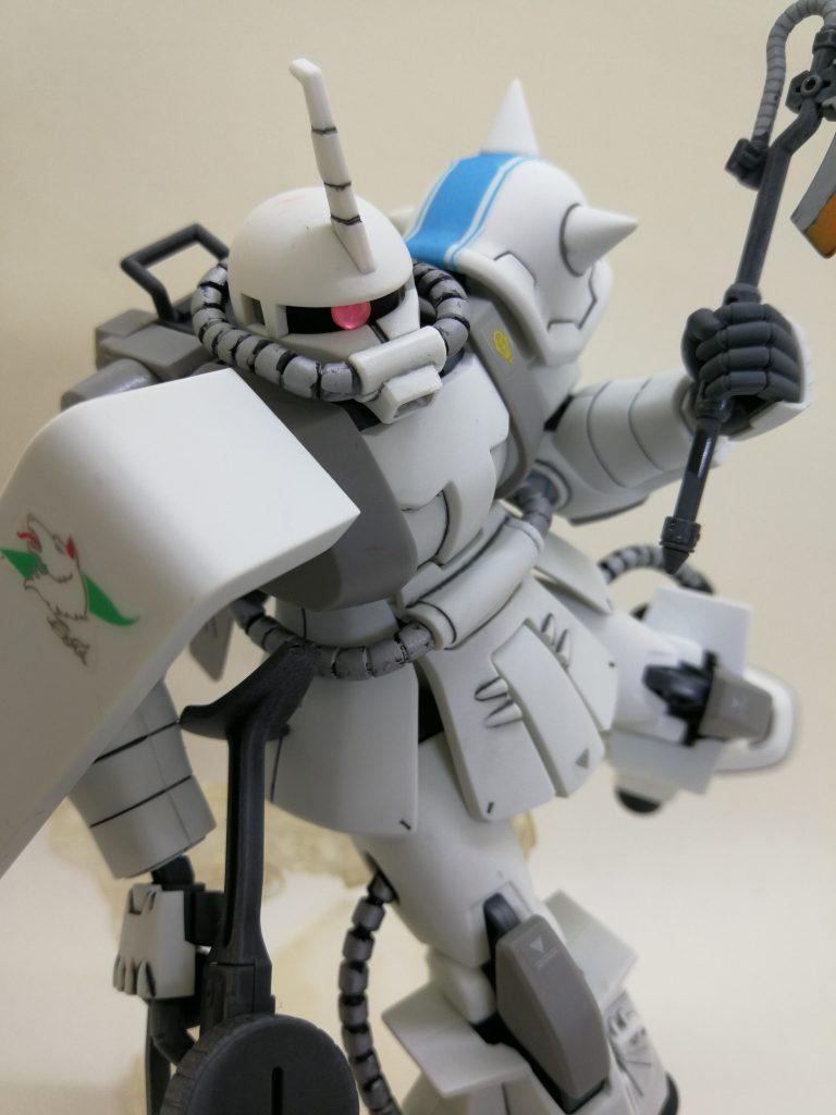シン・マツナガ専用ザクⅡ アピールショット3