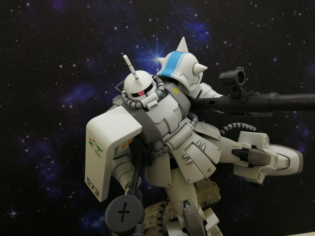 シン・マツナガ専用ザクⅡ アピールショット4