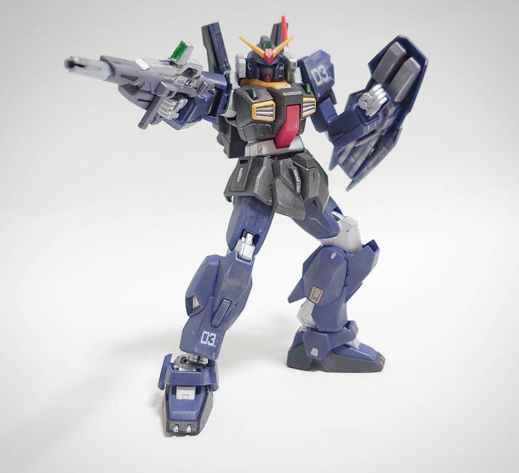 HG ガンダムMk-Ⅱ アピールショット2