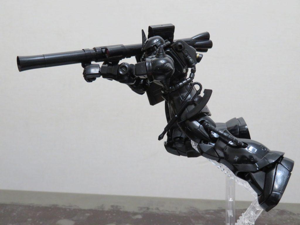 HG_黒髪のシャア専用ザクⅡ MARO17 × ガンダムコラボキャンペーン限定 アピールショット3