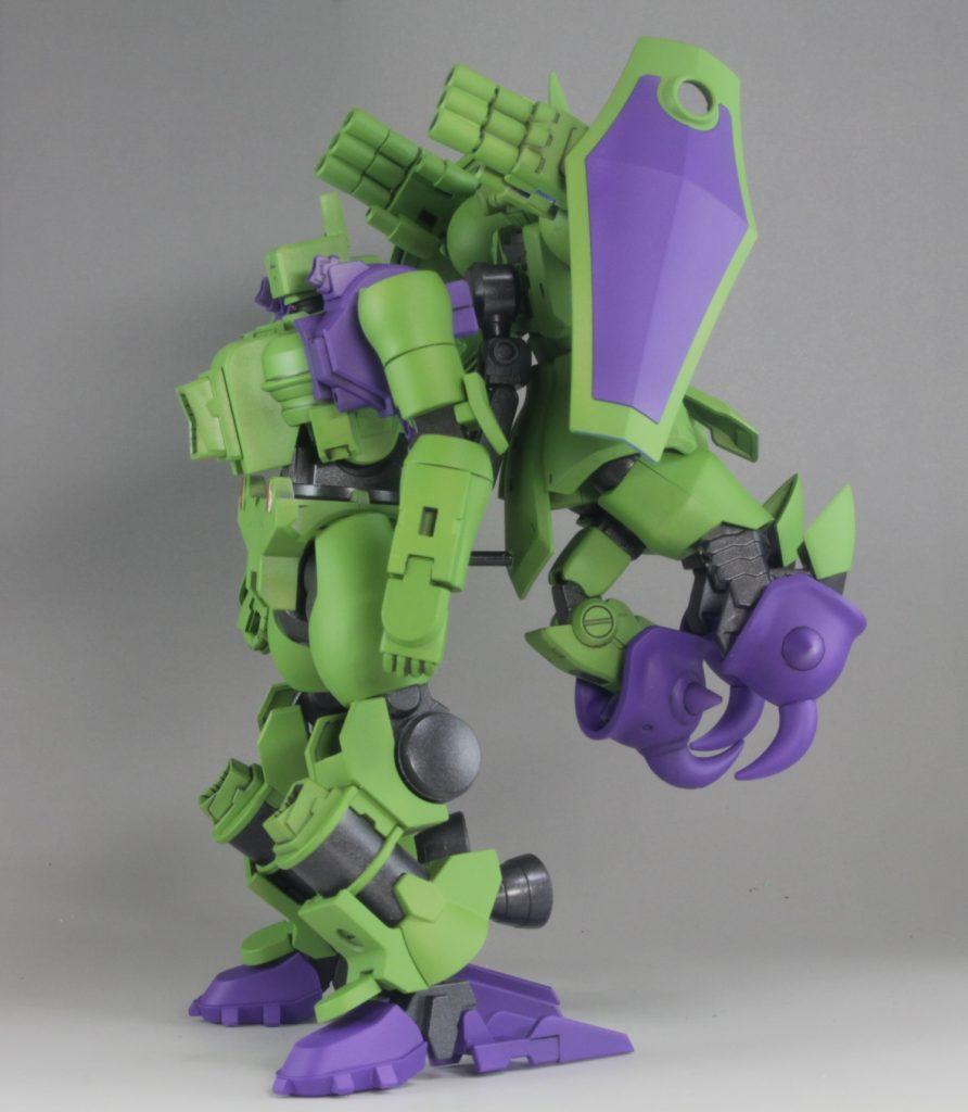 戦槌鉄人二式 アピールショット1