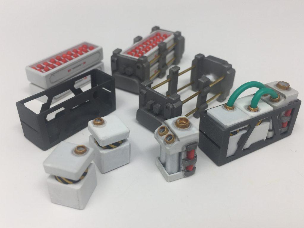 HGUC メタス + 追加装備A/B/C 制作工程8