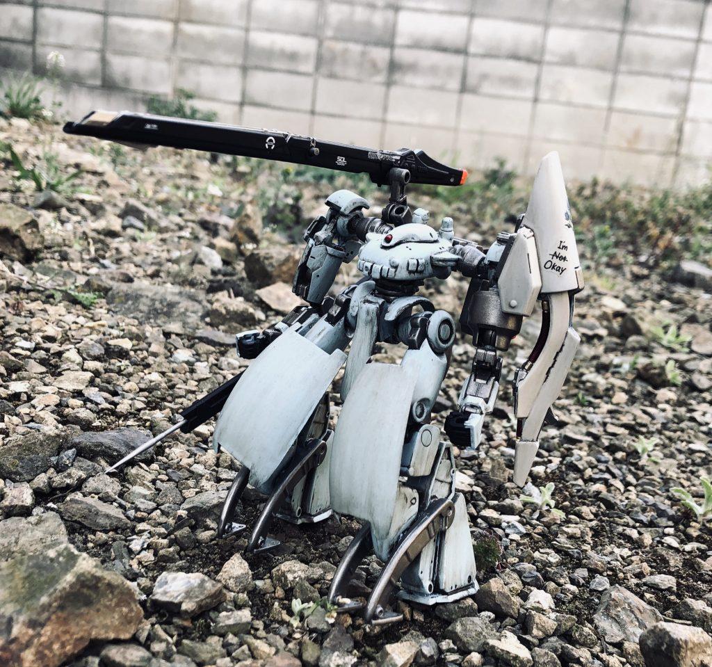 従兵機ブラウ・ローゼ 制作工程2