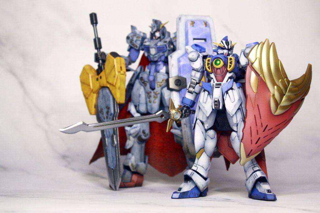翼の騎士ゼロ 制作工程1