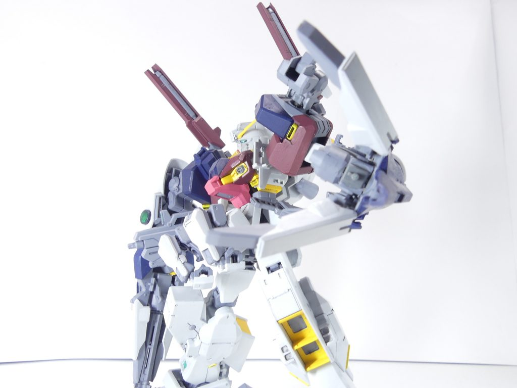 【GBNW:EX】33:ガンダムTR-1【ハイゼンスレイ・マテウス】 制作工程2