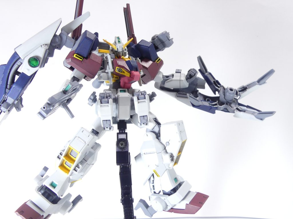 【GBNW:EX】33:ガンダムTR-1【ハイゼンスレイ・マテウス】 制作工程3