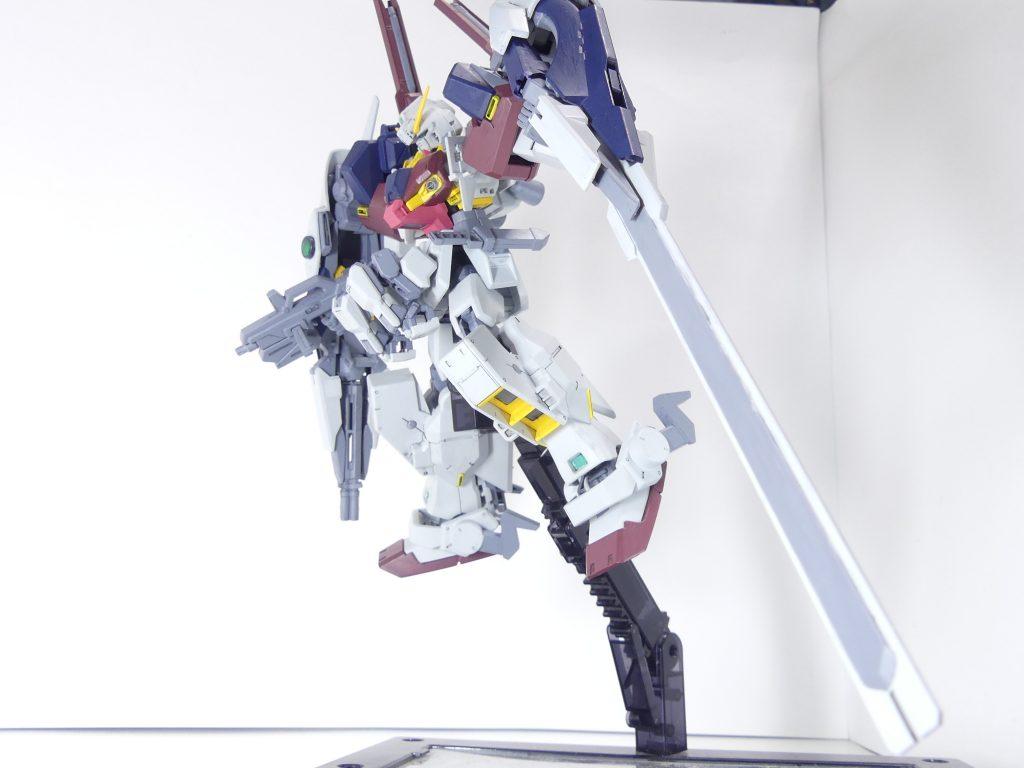 【GBNW:EX】33:ガンダムTR-1【ハイゼンスレイ・マテウス】 制作工程4