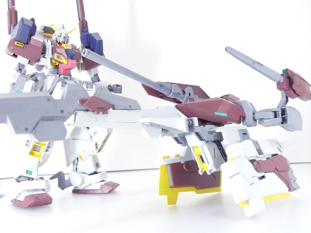 【GBNW:EX】33:ガンダムTR-1【ハイゼンスレイ・マテウス】 制作工程5