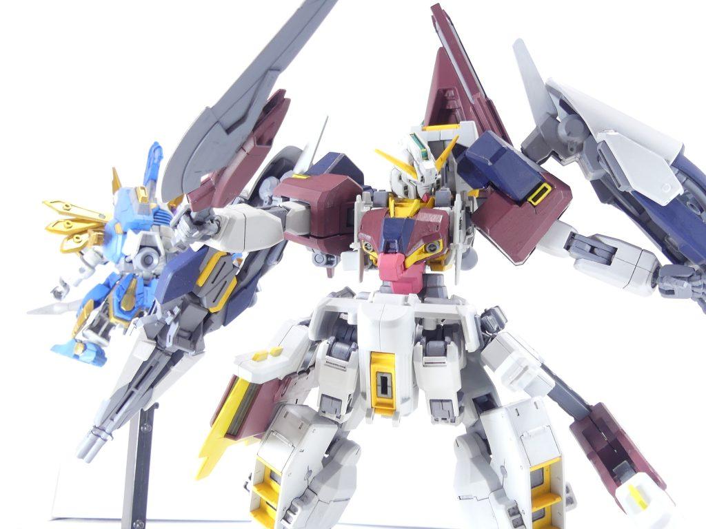 【GBNW:EX】34:ガンダムTR-1【ハイゼンスレイ・マテウス】アドバンスド形態 アピールショット2