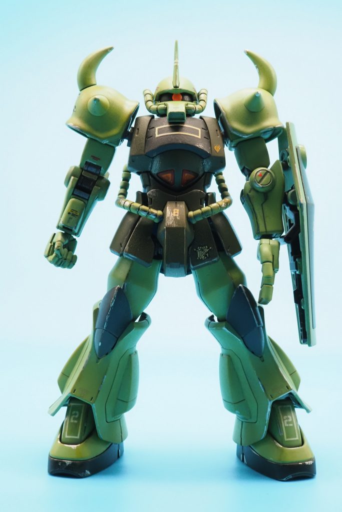 MS-07 グフ ジオン本国防衛隊所属機 アピールショット4