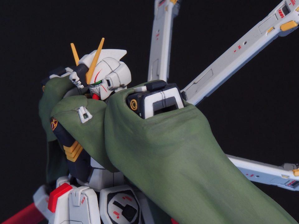 HGUC クロスボーンガンダムX1 (ABCマント装備) アピールショット3