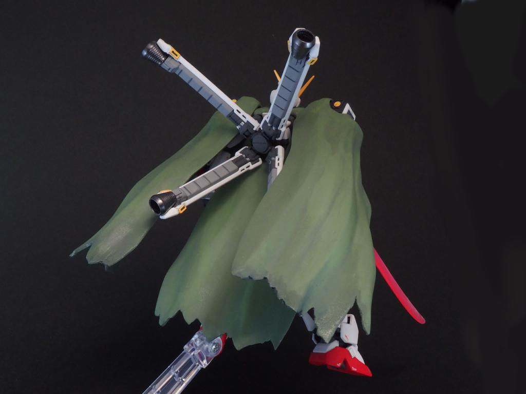 HGUC クロスボーンガンダムX1 (ABCマント装備) アピールショット2