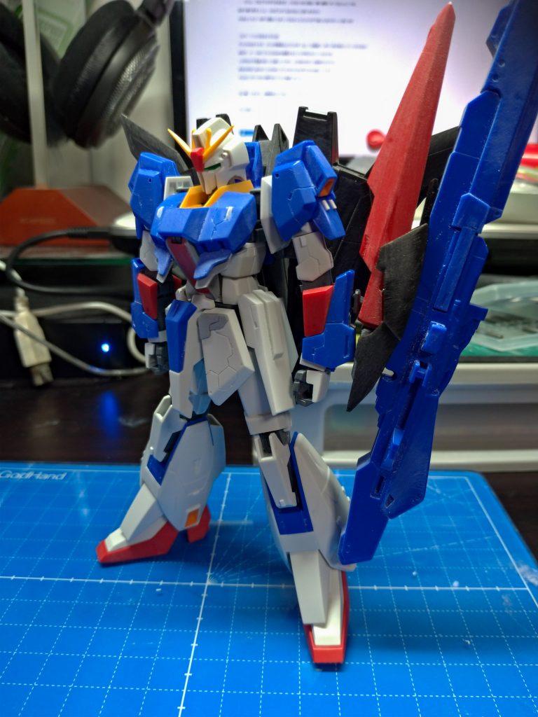 ZETA GUNDAM -Brilliant Blue- 制作工程1