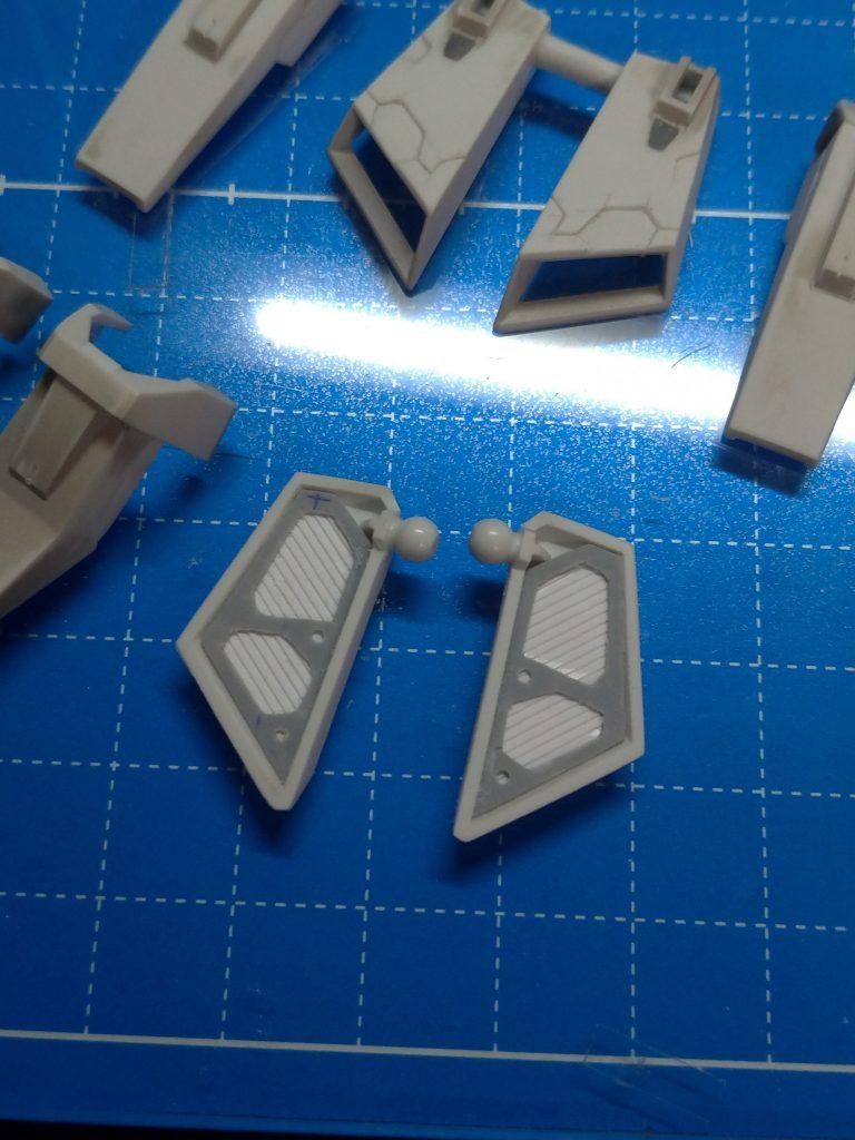 ZETA GUNDAM -Brilliant Blue- 制作工程2