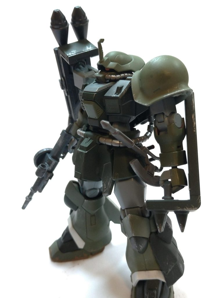 MSー08TX/R イフリート・リッター アピールショット1