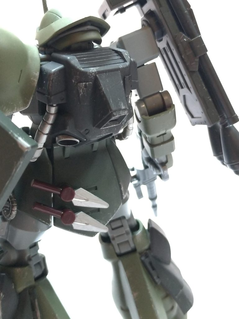 MSー08TX/R イフリート・リッター アピールショット4