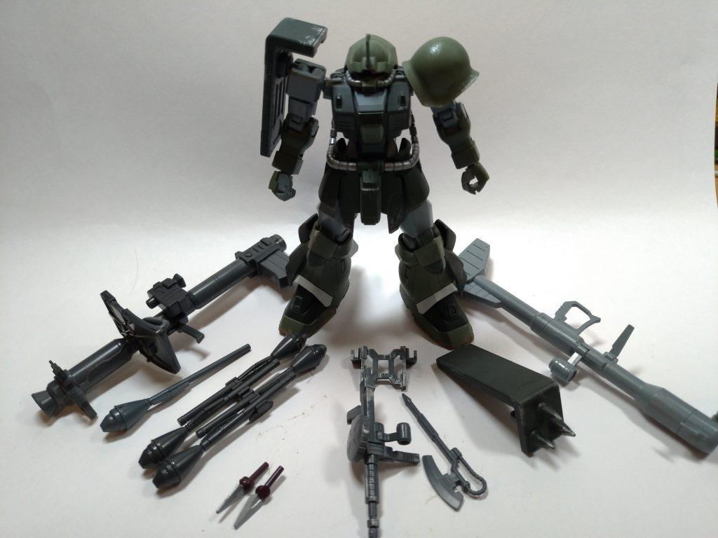 MSー08TX/R イフリート・リッター 制作工程1
