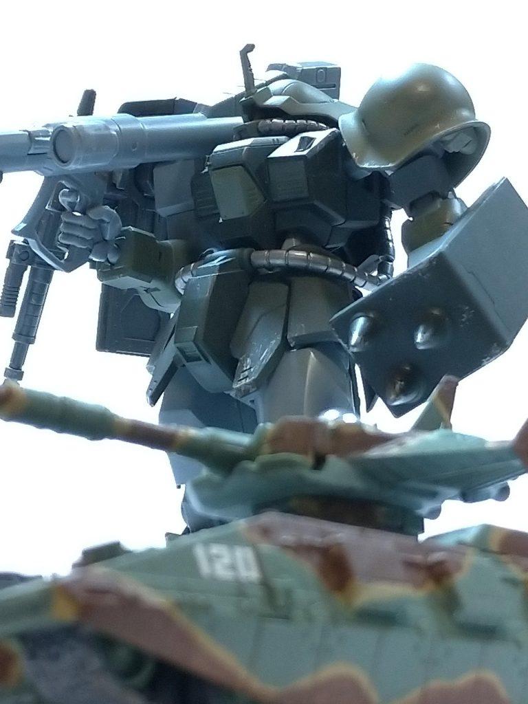 MSー08TX/R イフリート・リッター 制作工程3
