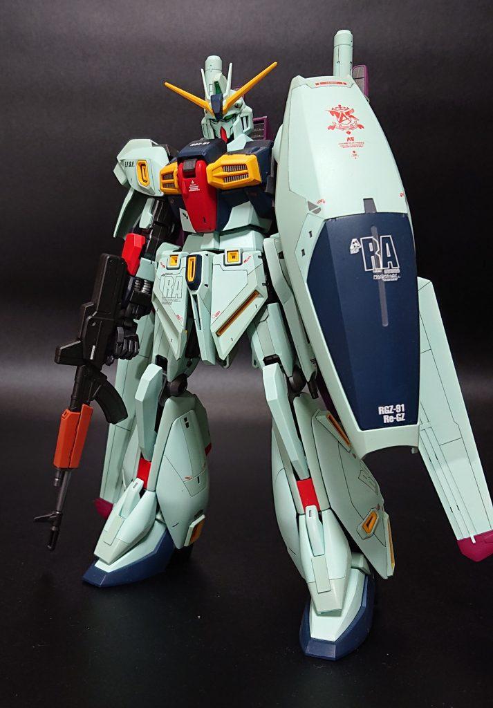 MG Re-GZ カスタム アピールショット1