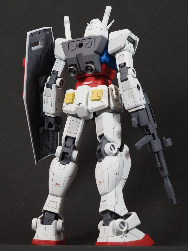 HGUC RX-78 ガンダム(リバイブ版) アピールショット1