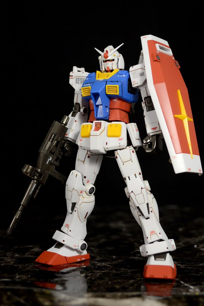 HG RX-78-02ガンダム(GUNDAM THE ORIGIN版) アピールショット3