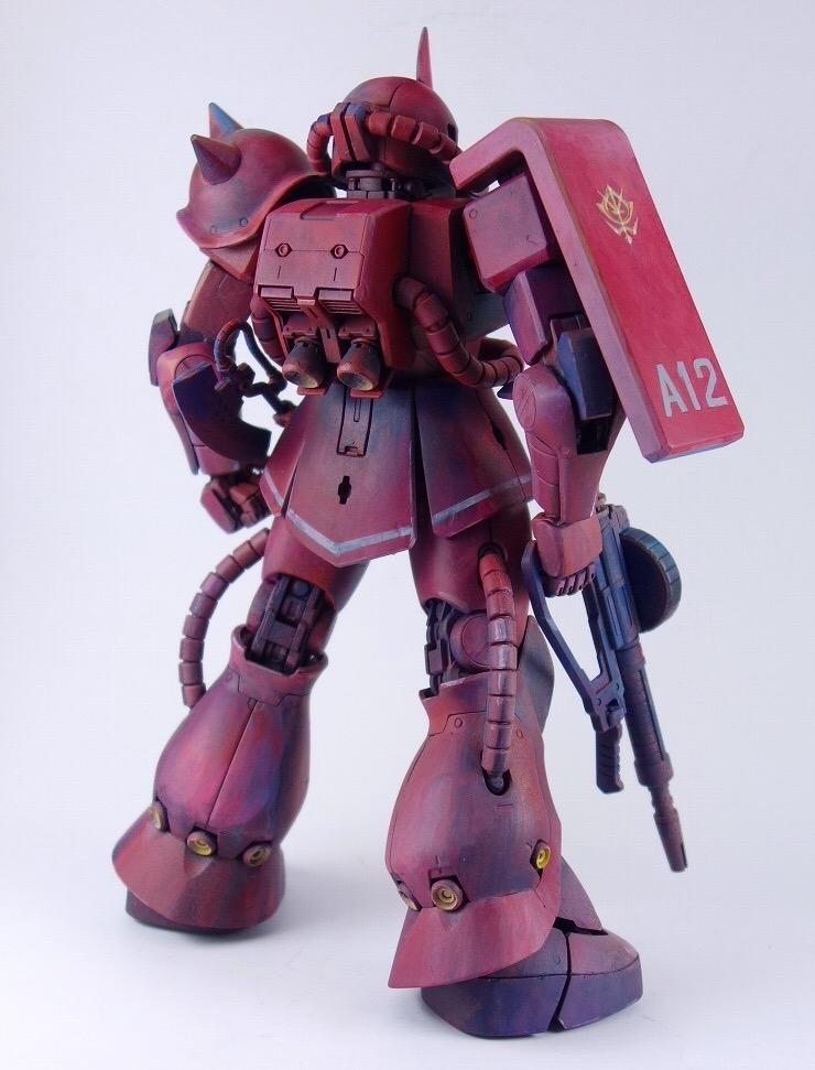 MGシャア専用ザク アピールショット6