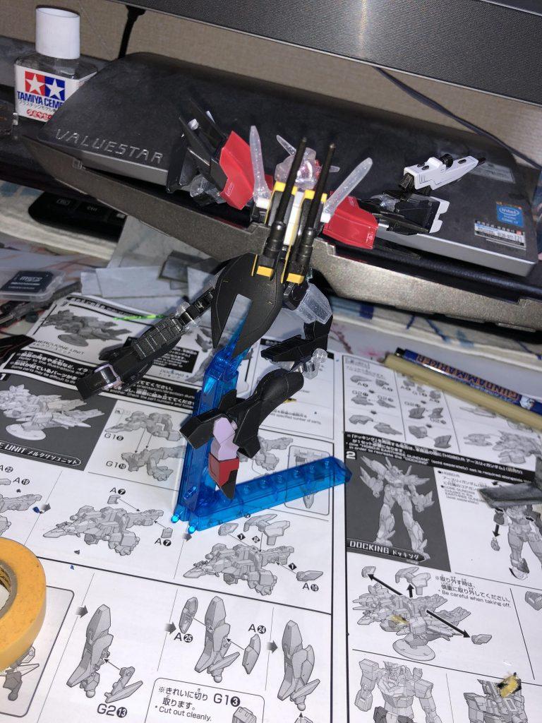 コアガンダム スタイル・ガイア アピールショット3