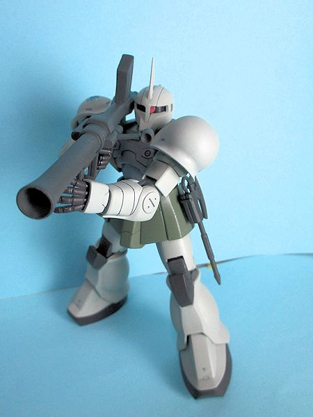 MS-05SザクⅠ・ゲラート・シュマイザー少佐機(サイドストーリー・ミッシングリンクver) アピールショット4