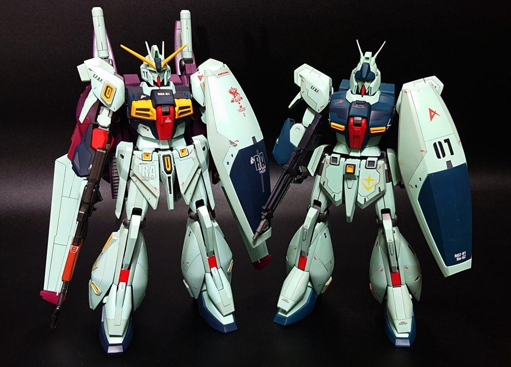 MG Re-GZ カスタム アピールショット4