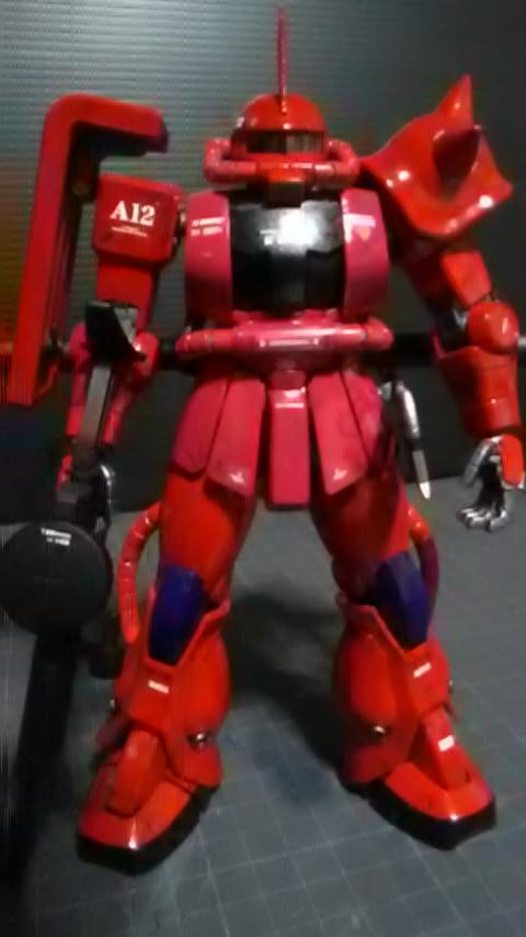 MG シャア専用ザクⅡ ver2.0です。