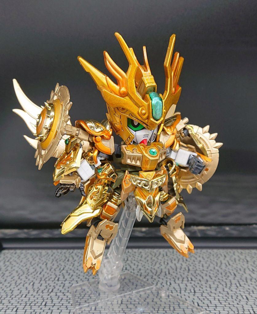 黄金聖闘士みたいなガンダム