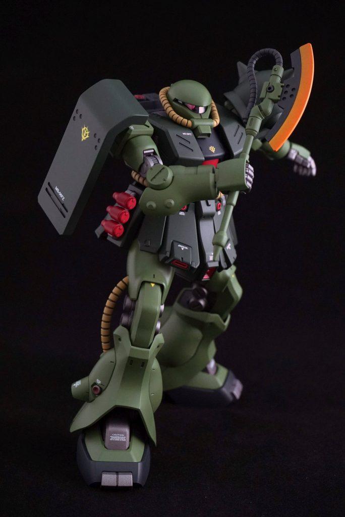 RE 1/100 ザクⅡ改 全塗装