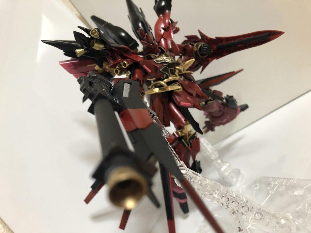 HGUC 赤黒い彗星シナンジュ皇帝