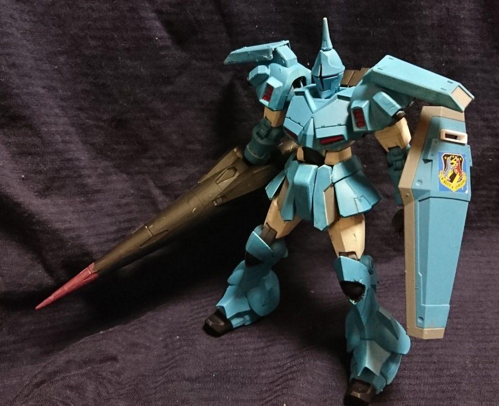 蒼き雷光 ユーマライトニング少尉用ギャンクリーガー
