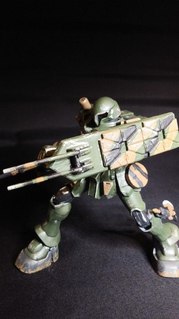 陸戦型ヅダ 制作工程1