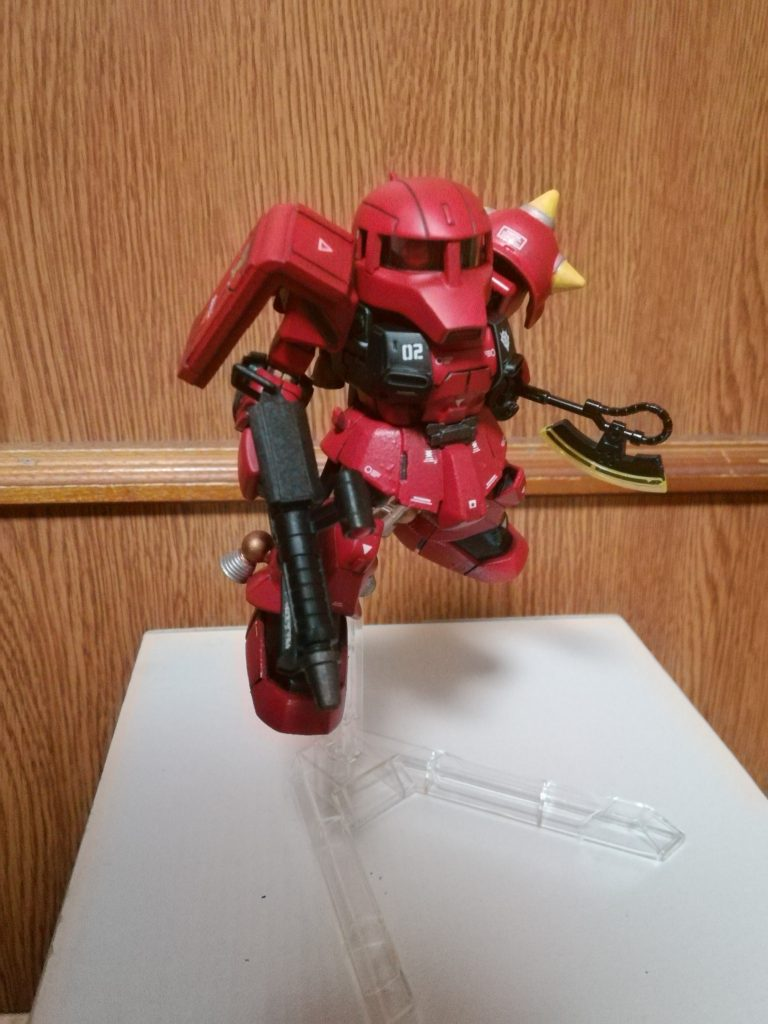 SDCSジョニーライデン専用ザク1(シャラシャー鹿ver)