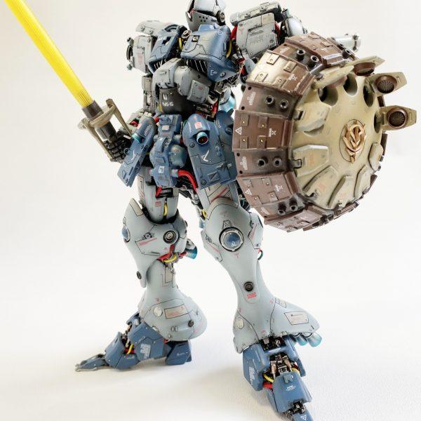 MG 1/100 YMS-15 GYAN feat.TOSAHIN