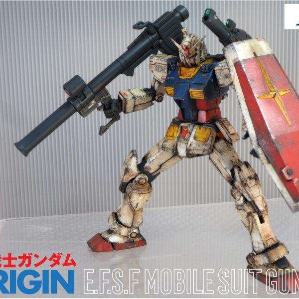 HG 1/144 RX-78-02 ガンダム GUNDAM THE ORIGIN版