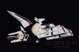 """SCV-69 ペガサス級宇宙空母 1番艦 """"ペガサス"""""""