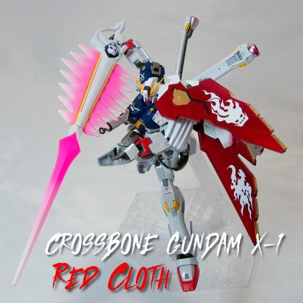 CROSSBONE GUNDAM X1 ‐RED CLOTH‐