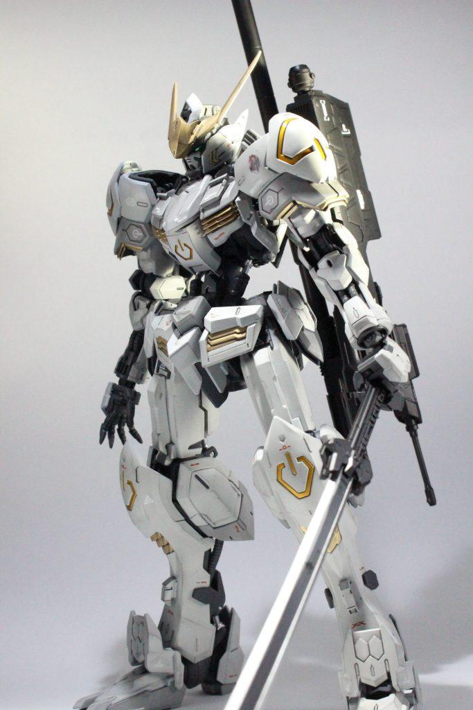 MG バルバトス /w F-4 Phantom