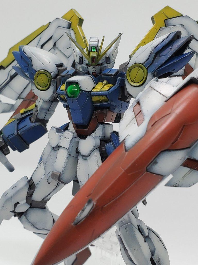 RG ウイングガンダム アニメ版カラー
