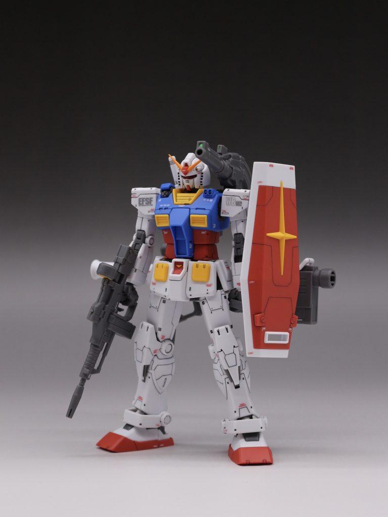 RX-78-2オリジン版 整形色仕上げ