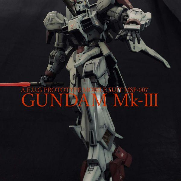 RE/100 ガンダム Mk-Ⅲ