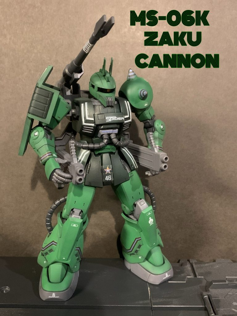MS-06K ZAKU CANNON