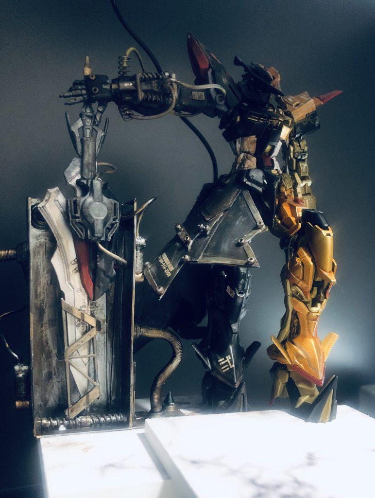 アストレイゴールドフレーム騎士