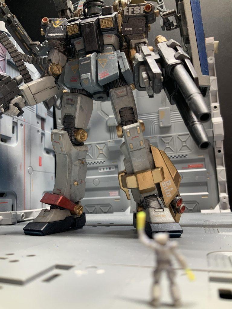 この武装で無事に魔のサンダーボルト宙域から帰還してこいよ ジム RGM-79 GM 改 サンダーボルト宙域最終決戦仕様
