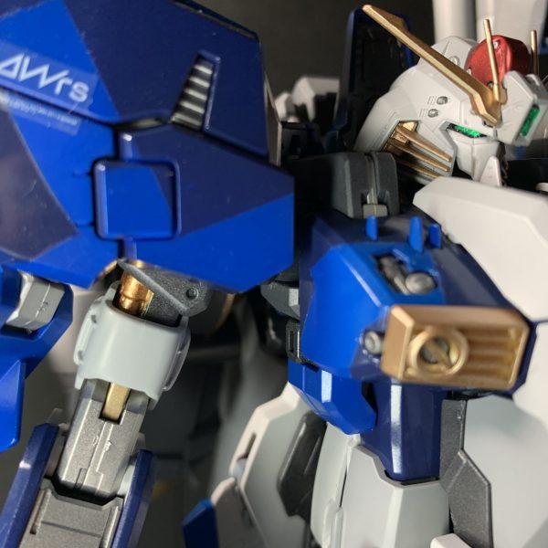 EX-Sガンダム メタルビルド風全塗装