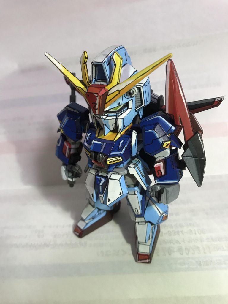 SDCS MS-Z006 Zガンダム アニメ塗り