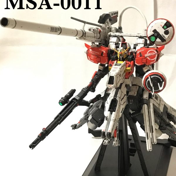 MG 1/100 ディープストライカー PLAN303E ウェザリング